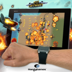 Aces of the Luftwaffe – SmartWatch2 ou SmartBand en manette
