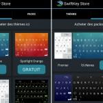 Le clavier virtuel SwiftKey devient gratuit et propose un store
