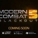 Modern Combat 5 Blackout – Un nouveau teaser