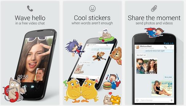 myChat  vidéo chat et messages   Applications Android sur GooglePlay