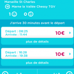 OUIGO – Ravalement de façade de l'application mobile de la SNCF