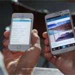 Samsung trolle à nouveau Apple avec la taille de son écran
