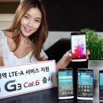LG G3 Cat.6 LTE – Officiellement … pour la Corée du Sud
