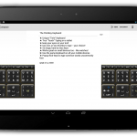 FlickKey keyboard – De la concurrence en clavier pour Android Wear
