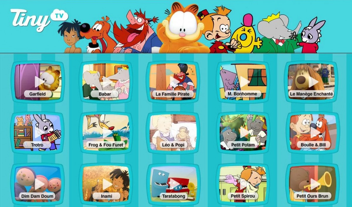 Tiny TV   100  dessins animés   Applications Android sur Google Play