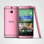 HTC One M8 – En rouge et rose bientôt disponible en Europe