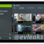 NVIDIA Shield Tablet – Une photo en fuite