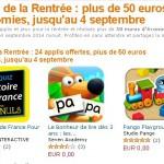 Amazon offre 50€ d'applis Android pour la rentrée #bonplan