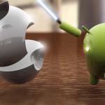 Pour la première fois Android est plus utilisé qu'iOs