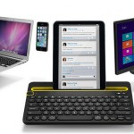 Logitech K480 – Un clavier Bluetooth multi-terminaux #IFA2014