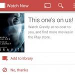 Play Films – Une copie de Gravity offerte aux bons clients ?