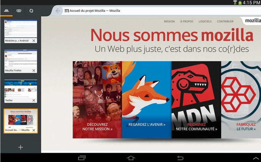 Navigateur web Firefox   Applications Android sur Google Play