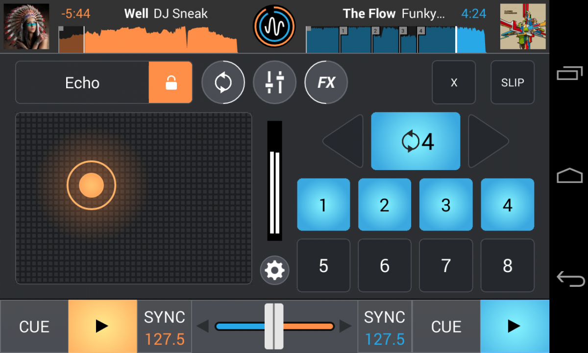 New Mixvibes Cross DJ 2.0 for Android_FX loop_mobile