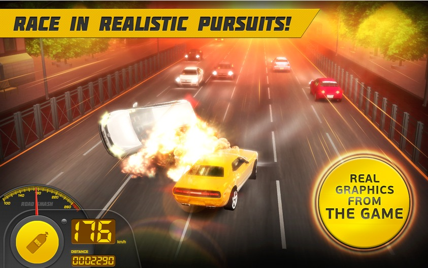 Road Smash 2  Hot Pursuit   Applications Android sur GooglePlay