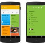 Google Keep – Mise à jour avec fonction partage