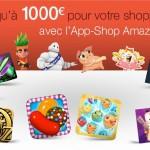 App-Shop Amazon – 1000 euros de bons d'achat à gagner pour Noël