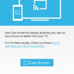 Chromecast – Le mirroring pour LG G Pad 8.3 GPE et NVIDIA SHIELD Tablet