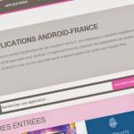 Nouveau portail d'applications et forum tout neuf pour AF