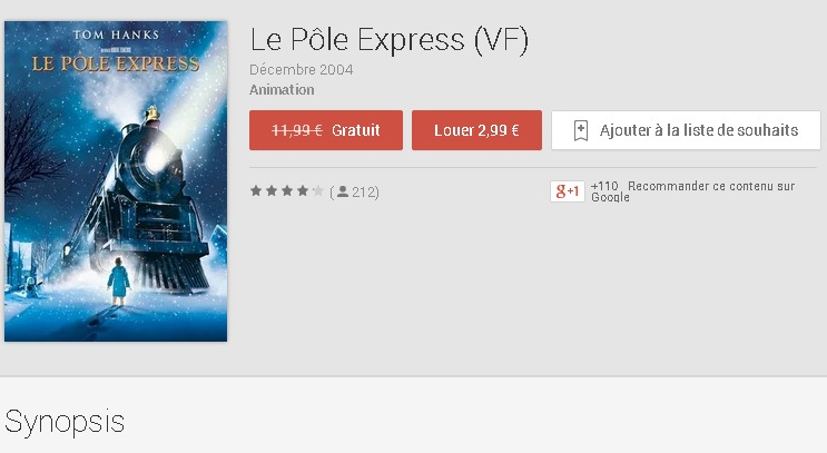 Le Pôle Express  VF    Films sur GooglePlay
