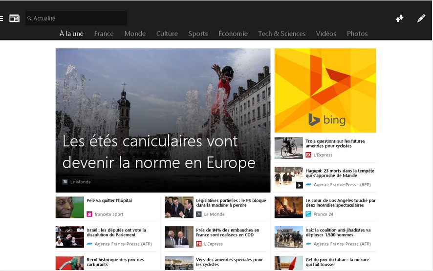 MSN Actualité  Les gros titres   Applications Android sur GooglePlay