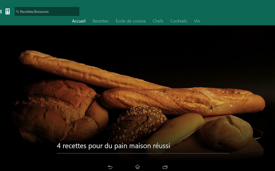 MSN Cuisine   Vins   Applications Android sur GooglePlay