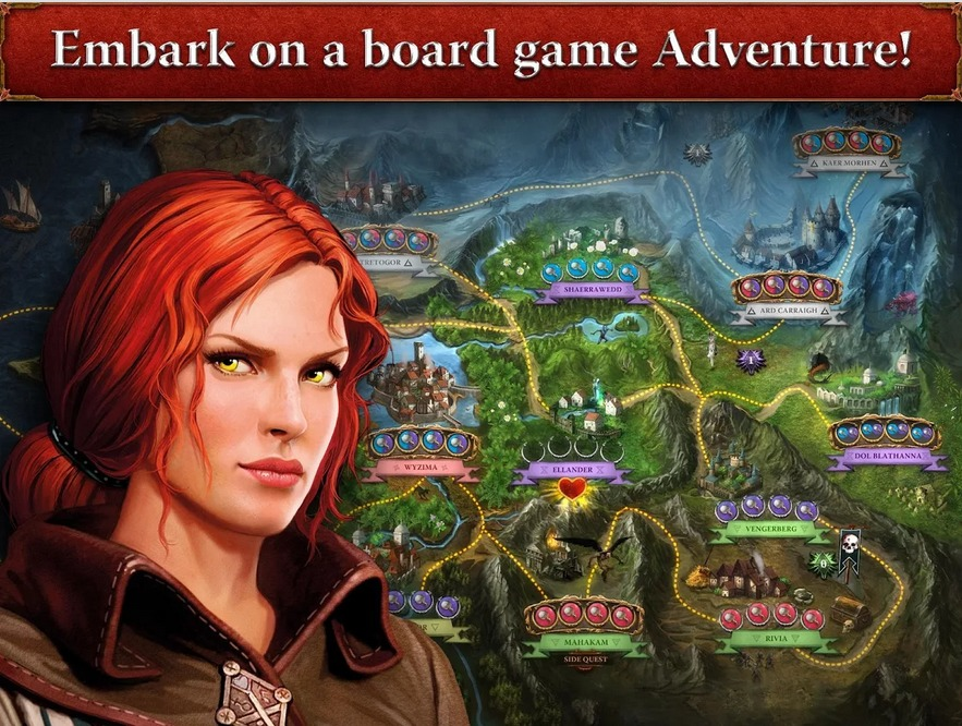 The Witcher Adventure Game   Applications Android sur Google Play