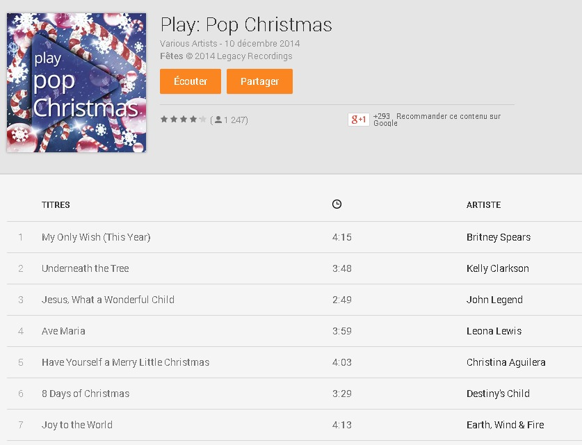 Various Artists  Play  Pop Christmas   Musique sur Google Play