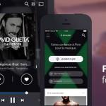 Deezer – Mise à jour de l'application avec un nouveau design