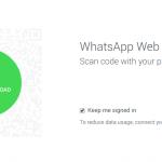 WhatsApp – Version web disponible (oui oui depuis le navigateur)