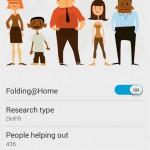 Folding@Home – Aidez à lutter contre des maladies avec votre Xperia