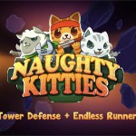 Naughty Kitties – Un mélange de runner et de tower defense