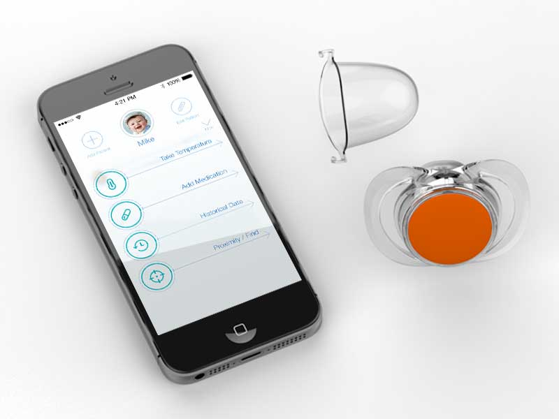 Pacifi-bluetooth-smart-pacifier