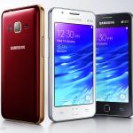 Samsung Z1- Premier smartphone Tizen qui fait tourner les apps Android