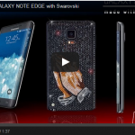 Samsung Galaxy Note Edge Swarovski – le smartphone très bling-bling