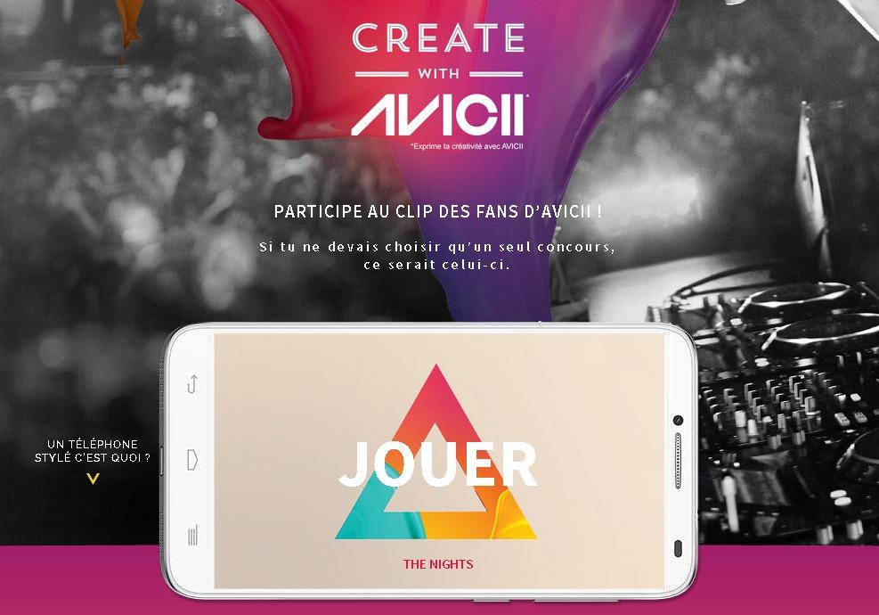 Exprime ta créativité avec Avicii   ALCATEL ONETOUCH IDOL 2 SERIES