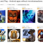 Pay Once and Play – Un site qui liste les apps Android sans achat in-app