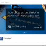 Fessenger – Facebook Messager bientôt disponible sur les Google Glass