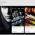 Fast & Furious 4 gratuit et des films en promo sur Google Play #bonplan