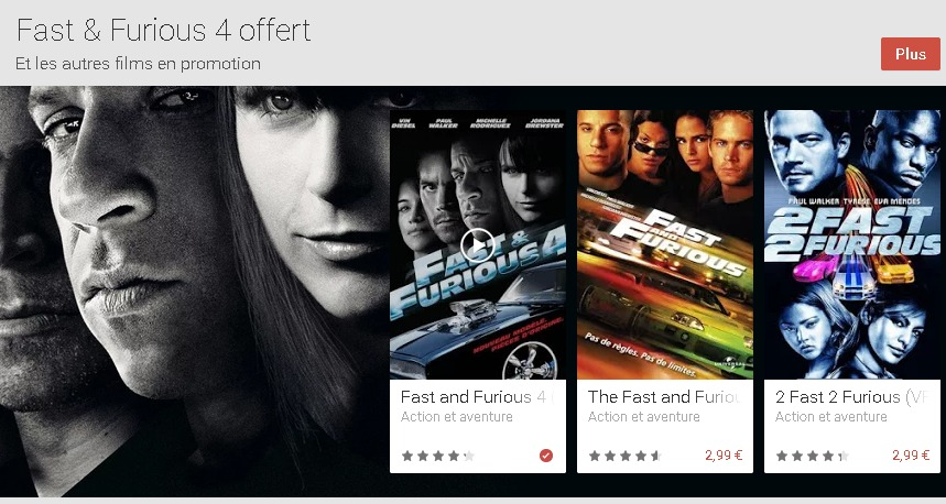 Films sur Google Play