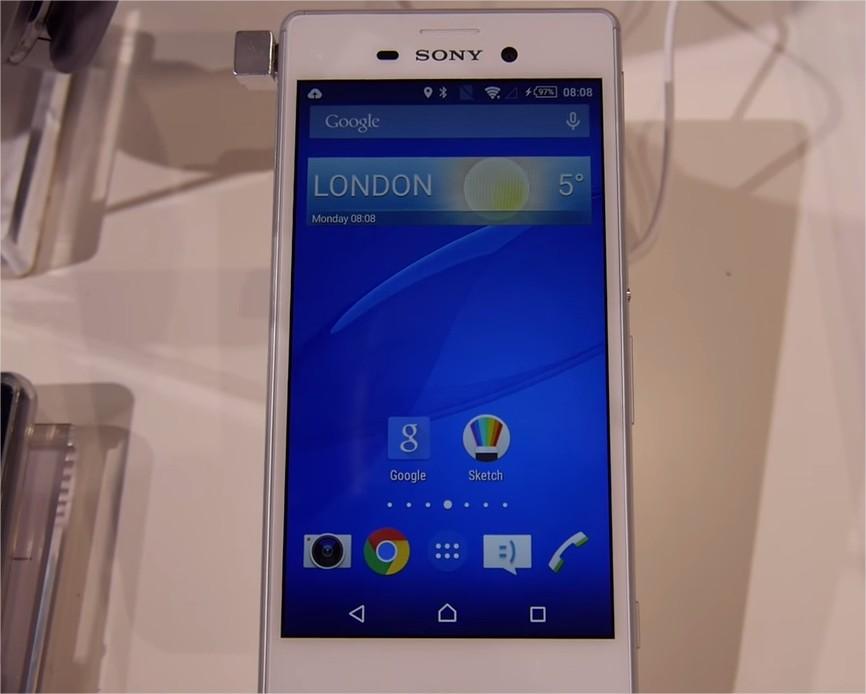 MWC2015 Sony Xperia M4 Aqua
