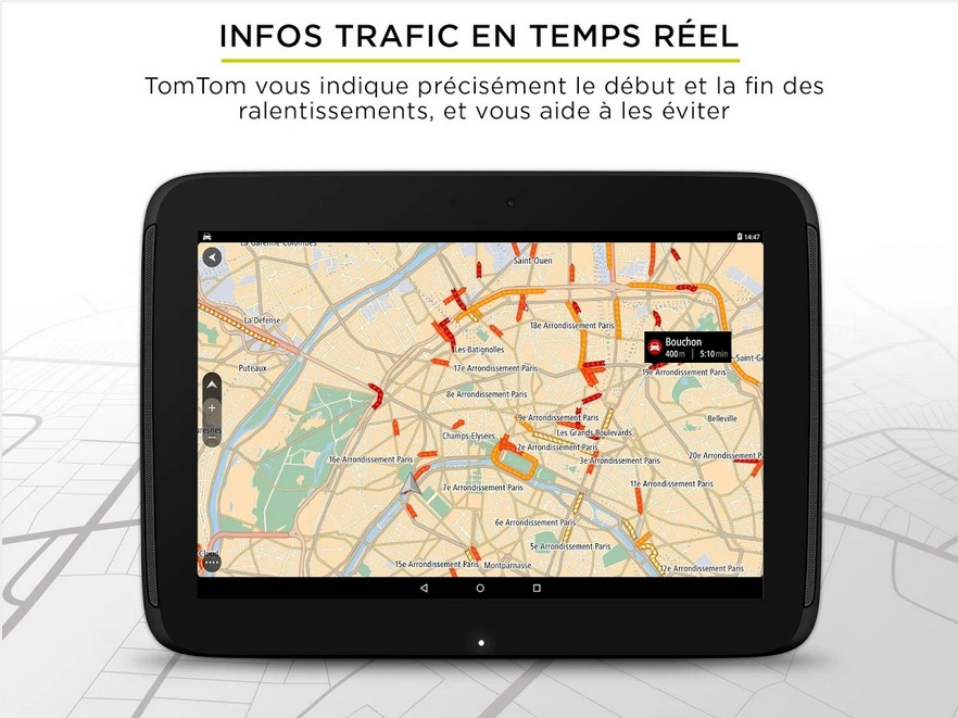 TomTom Navigation GPS Traffic – Applications Android sur GooglePlay3