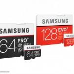 Samsung annonce les microSD PRO Plus et EVO Plus