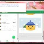 Google teste une nouvelle interface pour Hangouts