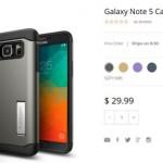 Samsung Galaxy Note 5 des photos d'accessoires