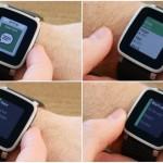 Mise a jour de la montre connectée :Pebble