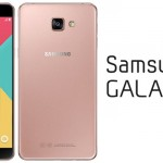Le Samsung galaxy pro A9 disponible en inde