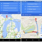 Google Maps – La navigation avec des étapes