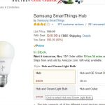 Samsung SmartThings Hub à 50 dollars sur Amazon