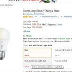 Samsung SmartThings Hub à 50 dollars sur Amazon