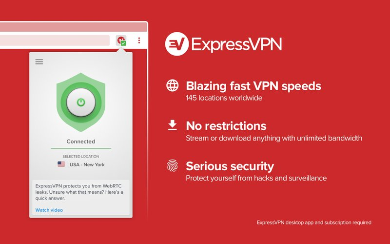 interface ExpressVPN